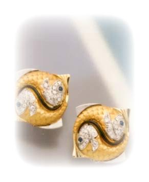 pesci orecchini